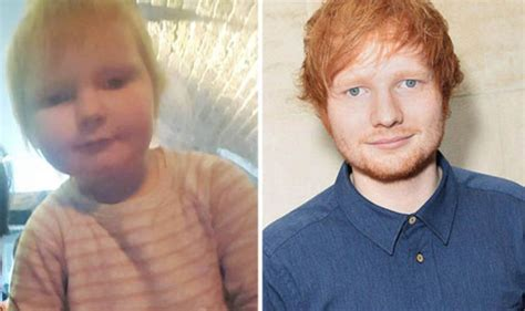 ed sheeran baby ed sheeran has a two year old doppelganger celebrity