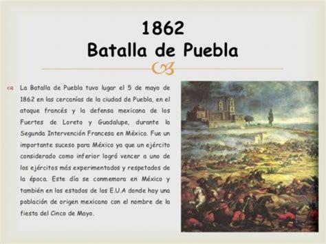 Resumen 5 De Mayo by Cinco De Mayo Conmemoraci 243 N De La Batalla De Puebla Con