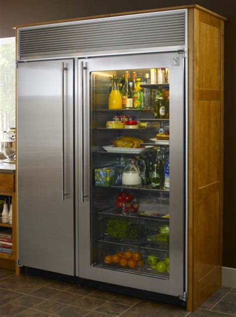 Clear Door Refrigerator by World S Most Expensive Furniture Pieces