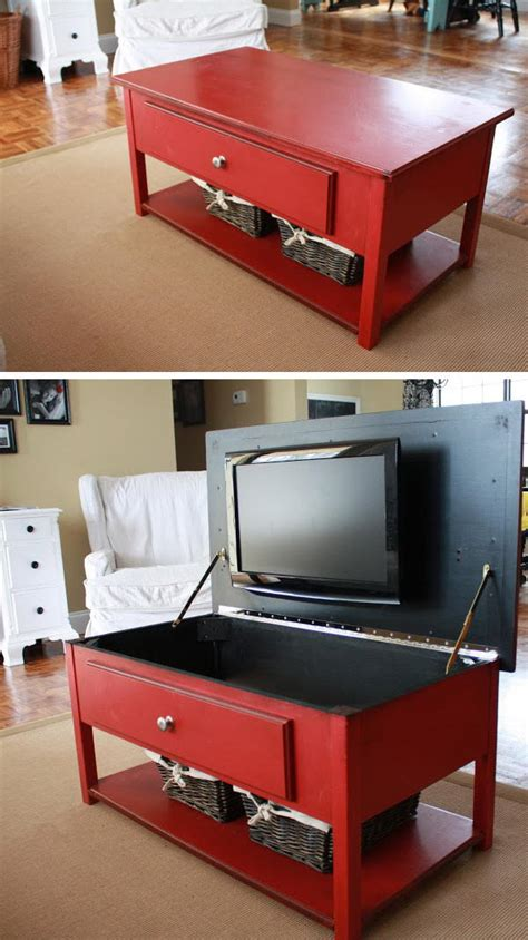 table for tv in bedroom 20 clever hidden storage ideas perfect for any home