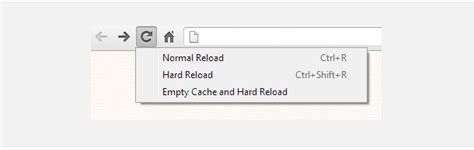 chrome hard refresh tech tip how to do hard refresh in chrome firefox and ie