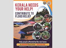 Appeal for Kerala flood relief - IACRFAZ Flood Relief Donations