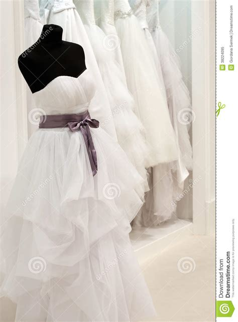 bridal shop  mannequin royalty  stock photo