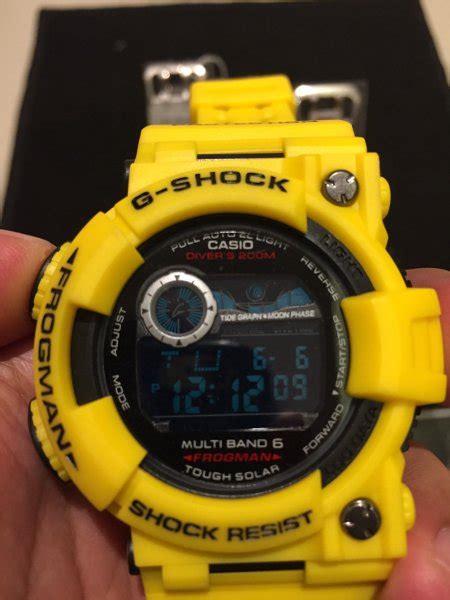 Kaos Gshock Frogman jual g shock frogman kuning doff di lapak yenni purnama