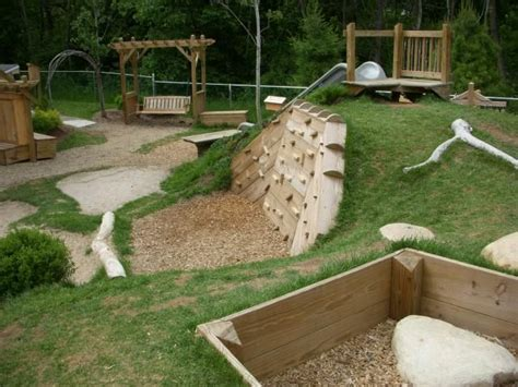 backyard playscapes natural playground playground ideas pinterest