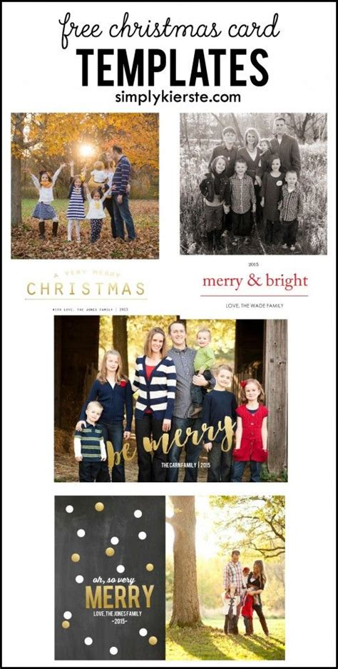free christmas card templates free christmas card and