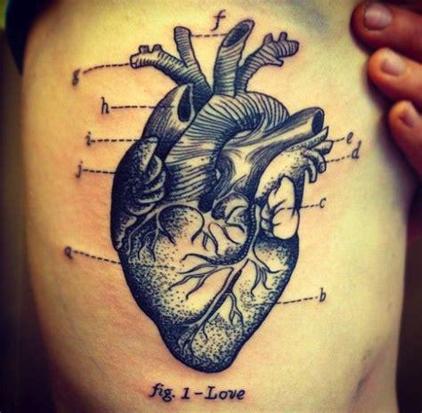 tattooed heart male version cool heart tattoos for men www pixshark com images