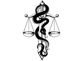 31 beautiful justice scale tattoos