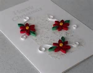 quilled christmas card handmade paper quilling