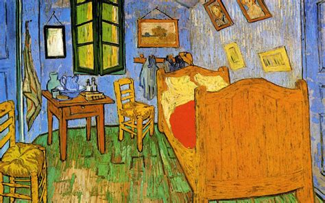 the bedroom by vincent van gogh painting of vincent van gogh the room wallpapers and