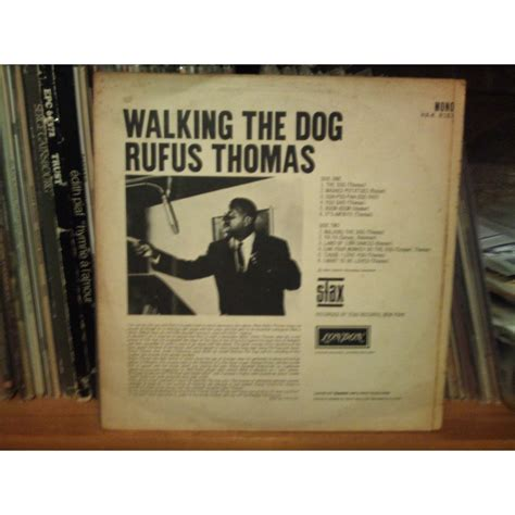rufus walking the walking the by rufus lp with misterdid