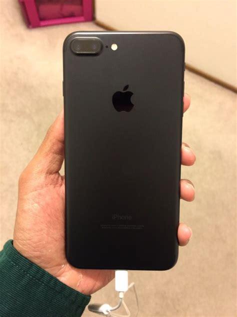 Kp3241 New Apple Iphone 7 Plus 128gb Blackmatte Gara Kode Tyr3297 3 iphone 7 plus 32gb matte black electronics in san jose ca