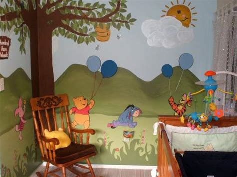 winnie the pooh themed bedroom pooh bears woodlands inspiration for kids bedroom decor