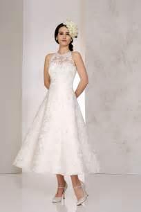 tea length wedding dresses uk tea length wedding dresses the prettiest designs for vintage brides hitched co uk