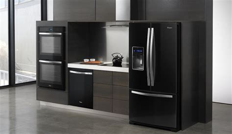 kitchen appliances trend black is the new black black is the new black in kitchens azure magazine
