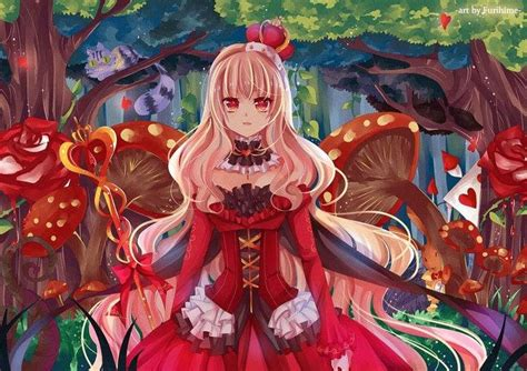 anime queen wallpaper love this anime queen of hearts anime pinterest