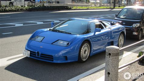 bugatti eb110 crash rare bugatti eb110 spotted in japan autoevolution