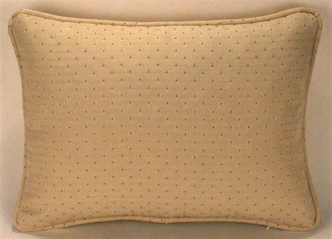 cream sofa pillows 2 12 quot by 16 quot cream and gold dot designer throw pillows ebay