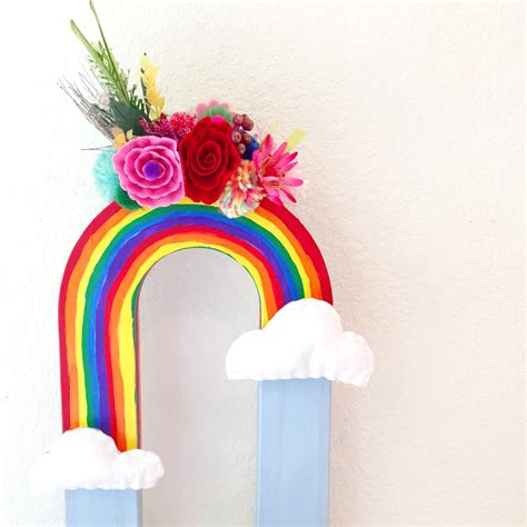 Rainbow Vase by Colorful And Diy Rainbow Vases Perkins