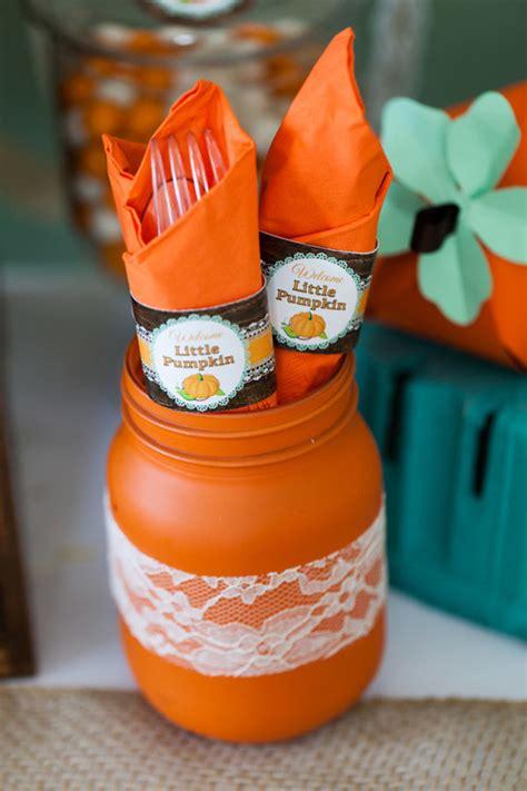 Pumpkin Baby Shower rustic pumpkin baby shower creative juice