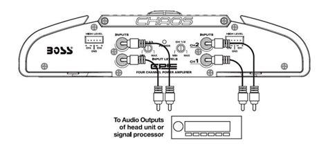 2 channel lifier wiring diagram wiring automotive