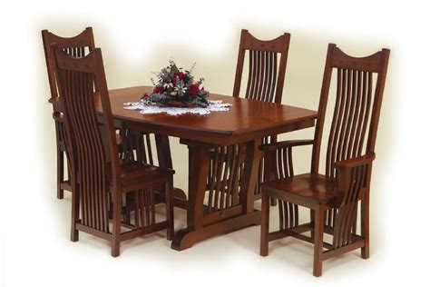 amish made dining room sets amish royal mission dining room set