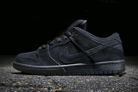 Nike Sb Dunk nike sb dunk low pro black black hypebeast