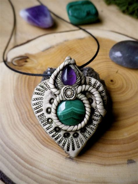 clay jewelry ideas 1000 images about polymer clay necklaces on