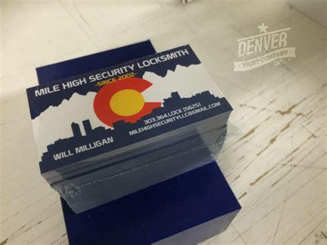Business Card Printing Denver