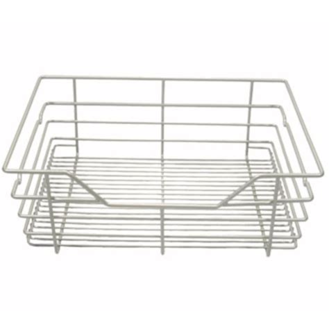 Wire Drawers For Closet by 17 In X 6 In Wire Basket Drawer Nickel In Custom Closet