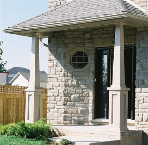 porch column wraps post wraps pvc wraps home faq gt photo gallery gt craftsman column drawings gt how design