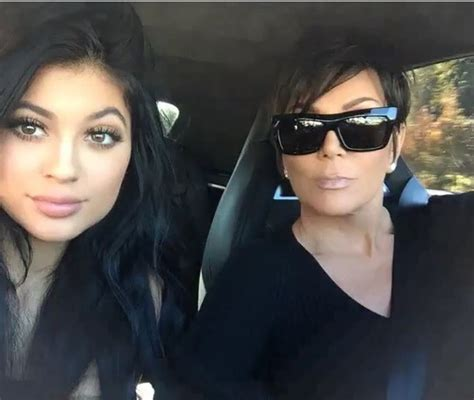 kris jenner hairstyle pictures instagram 2015 kylie jenner candids via tumblr image 2580748 by