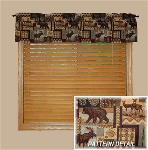 Curtains For A Cabin by Moose Curtains Shop Everything Log Homes