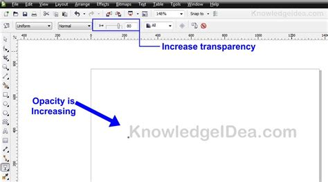 opacity in coreldraw x5 how to make a watermark in coreldraw knowledgeidea