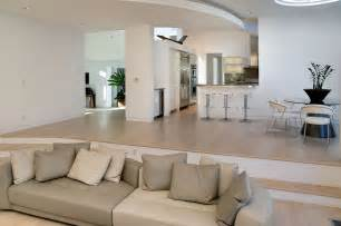 cool white leather sectional mode san francisco modern