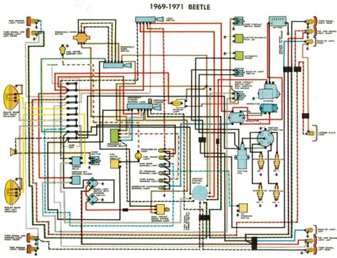 72 beetle wiring diagram get free image about