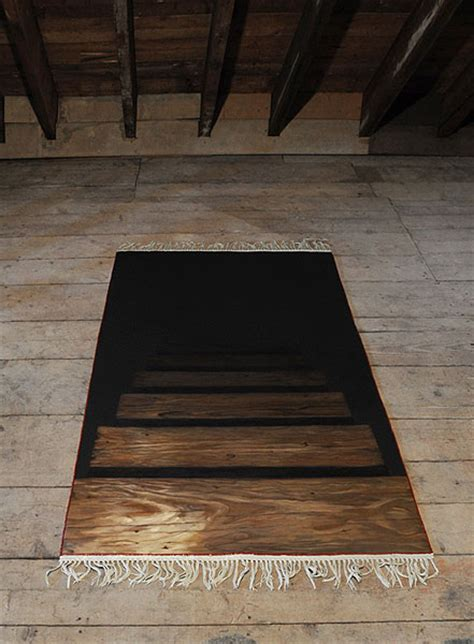 Rug That Looks Like Stairs Going by Trong G Nguyen Orphic Rug