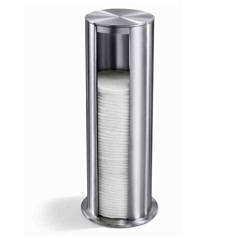 Rak Dispenser Stainless zack yara freestanding cotton pad dispenser stainless steel 40408 at plumbing uk