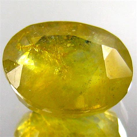 17 61 Karat Yellow Saphire yellow sapphire 6 61 carat no reserve price catawiki