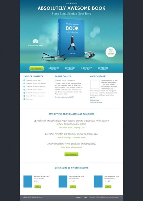 Ebook Landing Page Templates Themes Free Premium Free Premium Templates Landing Page Sle Templates