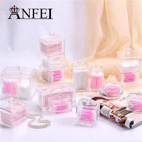 Acrylic Makeup Type I2 anfei 11 differents types cosmetic cotton series storage