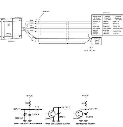 card reader wiring schematic wiring diagram