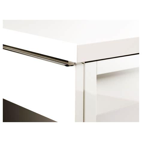 Best 197 Burs Desk High Gloss White 120x40 Cm Ikea Bestå Burs Desk High Gloss White