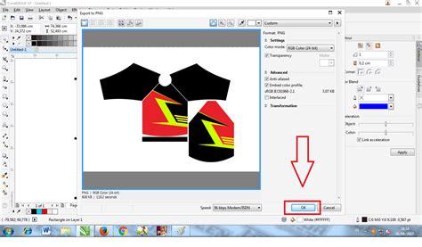 design grafis corel yohanwilanthara cara membuat design jersey motocross