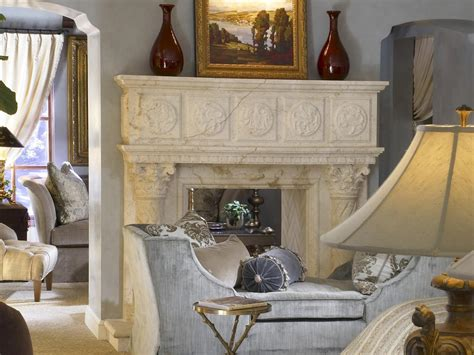 traditional style carved marble fireplace mantel photo page hgtv