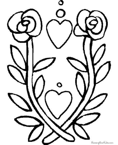 printable valentine flowers free valentine flower printables 016