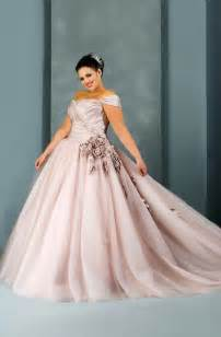 plus size colored wedding dresses plus size wedding gowns with color plussize