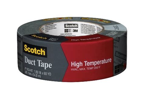 heat l home depot scotch high temperature duct 1 88 inch by 60 yard