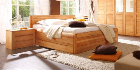 Bett Massivholz 180x200 Mit Bettkasten by Gamma Massivholzbett Doppelbett Bett Erle Massiv Ge 246 Lt