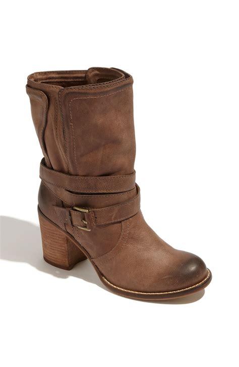 bcbgeneration boots bcbgeneration bekki boot in brown java lyst